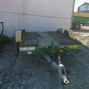 Batea para transporte de tractor oruga